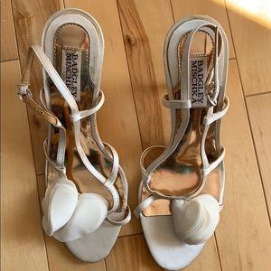 Badgley Mischka Vero Cuoio wedding shoes